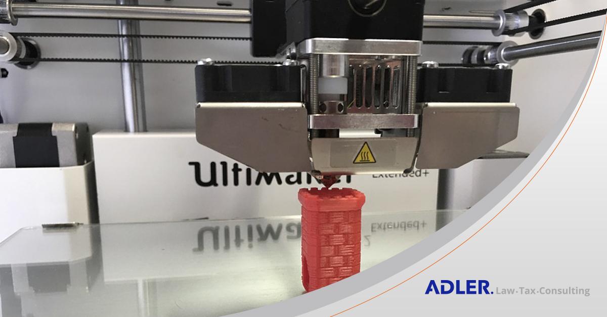 Receita publica entendimento sobre tributação de impressoras 3D